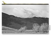 Longs Peak Snow Storm Bw Carry-all Pouch