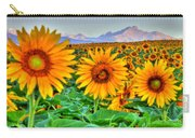 Longs Sunflowers Carry-all Pouch
