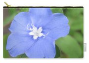 Lonly Blue Flower Carry-all Pouch