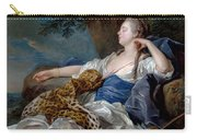 Loo, Louis-michel Van Tolon, 1707 - Paris, 1771 Diana In A Landscape 1739 Carry-all Pouch