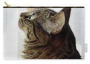 Look Out Window Tabby Cat Carry-all Pouch