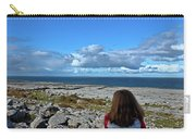 Looking At The Beautiful View Carry-all Pouch