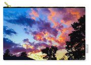 Looking At The Sunset Carry-all Pouch
