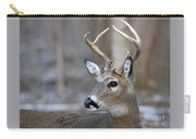 Looking Back Whitetail Deer Carry-all Pouch