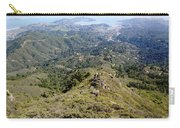 Looking Down From The Top Of Mount Tamalpais 2 Carry-all Pouch