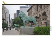 Looking Down Michigan Avenue Carry-all Pouch