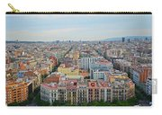 Looking Down On Barcelona From The Sagrada Familia Carry-all Pouch