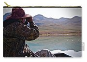 Looking For Musk Ox In Greenland Carry-all Pouch