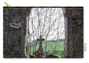 Looking Out Fuerty Church Roscommon Ireland Carry-all Pouch