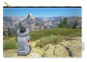 Looking Panorama At Glacier Point Carry-all Pouch