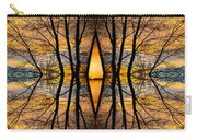 Looking Through The Trees Abstract Fine Art Carry-all Pouch