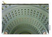Looking Up In Union Station -- A Westward View Carry-all Pouch