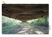 Looking Up Nevins Bridge Indiana Carry-all Pouch