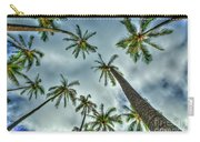 Looking Up The Hawaiian Palm Tree Hawaii Collection Art Carry-all Pouch