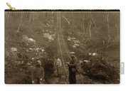 Looking Up Tramway At Heney H. C. Barley Photo Circa 1898 Carry-all Pouch