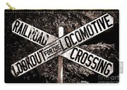 Lookout For The Locomotive Carry-all Pouch