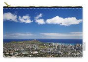Lookout View Of Honolulu Carry-all Pouch