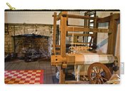 Loom And Fireplace In Settlers Cabin Carry-all Pouch