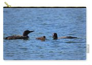 Loon Family Feeding Time Carry-all Pouch
