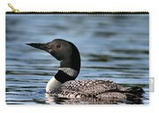 Loon In Blue Waters Carry-all Pouch