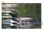 Loon In Summer Carry-all Pouch