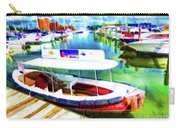 Loose Cannon Water Taxi 1 Carry-all Pouch by Lanjee Chee