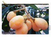 Loquat Exotic Tropical Fruit  Carry-all Pouch