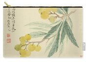 Loquat Carry-all Pouch