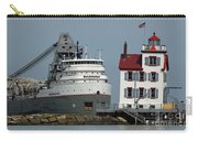 Lorain Lighthouse/ship Carry-all Pouch