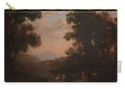 Lorena, Claudio De Chamagne, 1600 - Roma, 1682 Ford Of A River Ca. 1636 Carry-all Pouch