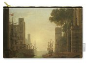 Lorena, Claudio De Chamagne, 1600 - Roma, 1682 The Embarkation Of Saint Paula Ca. 1639. Carry-all Pouch