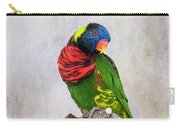 Lorikeet Greeting Carry-all Pouch