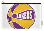 Los Angeles Lakers Retro Shirt Carry-all Pouch