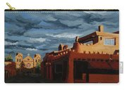 Los Farolitos,the Lanterns, Santa Fe, Nm Carry-all Pouch