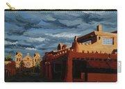Los Farolitos,the Lanterns, Santa Fe, Nm Carry-all Pouch by Erin Fickert-Rowland