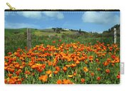 Los Olivos Poppies Carry-all Pouch