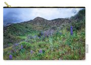 Lost Canyon Wildflowers Carry-all Pouch