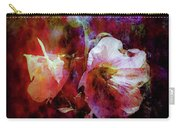 Lost Hollyhock Burning In The Dark Digital Painting 1358 Ldp_2 Carry-all Pouch