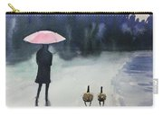 Walk In The Rain Carry-all Pouch