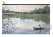 Lost Lagoon With Blue Heron Carry-all Pouch
