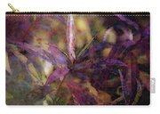 Lost Leaves Decorated In Purple 6003 Ldp_2 Carry-all Pouch