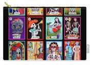 Loteria Dia De Los Muertos Carry-all Pouch