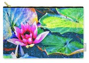 Lotus Blossom Carry-all Pouch