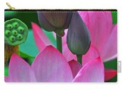 Lotus Blossoms  Carry-all Pouch