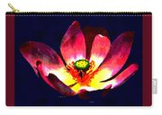 Lotus Blue Carry-all Pouch