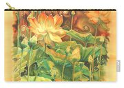 Lotus Field Carry-all Pouch