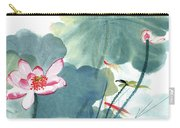Lotus Figure Carry-all Pouch