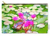 Lotus Flower 3 Carry-all Pouch
