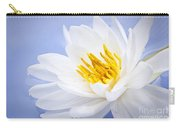 Lotus Flower Carry-all Pouch by Elena Elisseeva