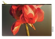 Lotus Flower Golden Glow Carry-all Pouch